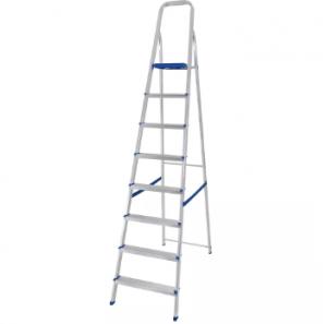 Escada De Alumínio - 08 Degraus - Mor