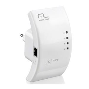 Repetidor De Sinal / Roteador Wireless - 300MBPs - Multilaser