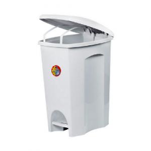Cesto Lixo - Com Pedal - Plástico - 50 Litros - Plasútil