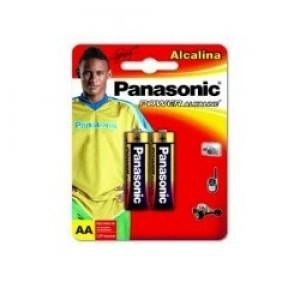 Pilha Alcalina - Pequena (AA) - Com 02 - Panasonic