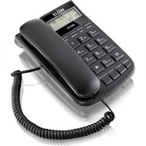 Aparelho Telefone - Com Fio - Com Bina - Elgin