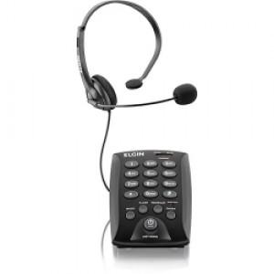 Aparelho Telefone - Com Fio - Headset - Elgin