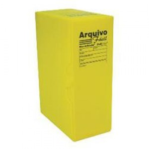 Arquivo Morto Polionda - Grande - Alaplast - Amarelo