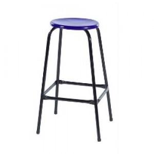 Banqueta Alta - Sem Encosto - Fixa - Assento Plástico - Móveis Gontijo