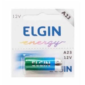 Bateria 12,0V - Alcalina - LR23 / A23 - Elgin