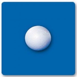 Bola Isopor - 025 Mm - Branco - Isoferes