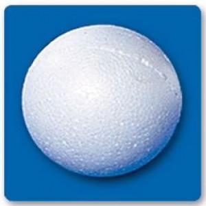 Bola Isopor - 075 Mm - Branco - Isoferes