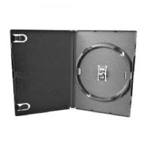 Caixa Box - DVD - Plástica - Fina - Preta - Videolar