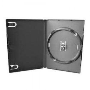 Caixa Box - DVD - Plástica - Grossa - Preta - Videolar