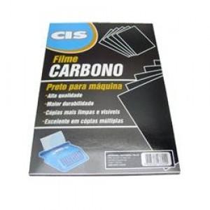 Carbono Cis - 01 Face - Comum - Preto