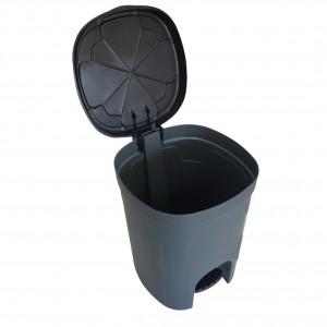 Cesto Lixo - Com Pedal - Plástico - 15 Litros - Antares