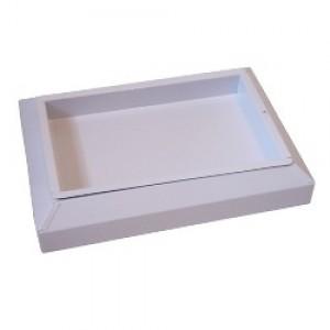 Cinzeiro De Chão - Desmontável - Metal - JSN - Branco