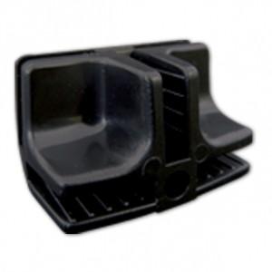 Conectivo Emenda - Plástico - 1/4 F - Preto - A Pontual