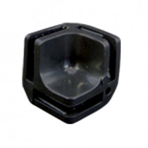 Conectivo Emenda - Plástico - 1/8 F - Preto - A Pontual