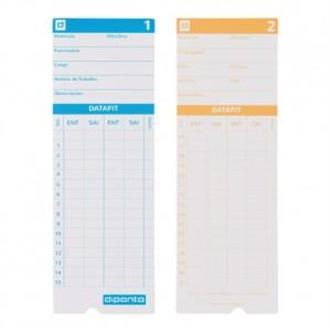 Impresso - Cartão De Ponto - 100 Folhas - Datafit - Diponto