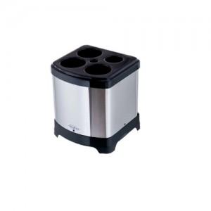 Dispenser Copos Usado - Quadrado - Inox - 40CM