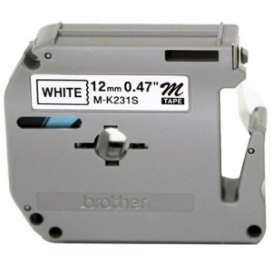 Fita Para Rotulador Eletrônico - 12MM X 8M - Brother - Olivetti