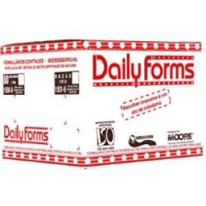Formulário 080 Colunas - Branco - 01 Via - Daily Forms - 2500 Jogos