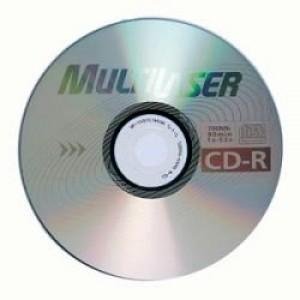 Mídia CD-R Gravável - Multilaser