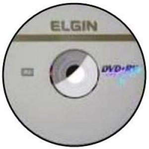 Mídia DVD+RW Regravável - Elgin