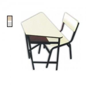 Conjunto Escolar - Adulto - MDF / Metalon - Trapezoidal - Móveis Gontijo
