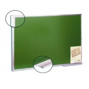 Quadro Verde - Para Giz - 1,50 x 1,20 - Moldura Alumínio - Cortiarte