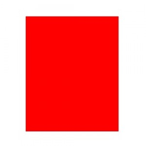 Capa Encadernação - Plástica - Fosco - Ofício - Vermelho - Plástico Líder