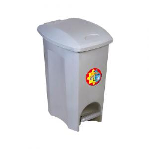 Cesto Lixo - Com Pedal - Plástico - 33 Litros - Plasútil