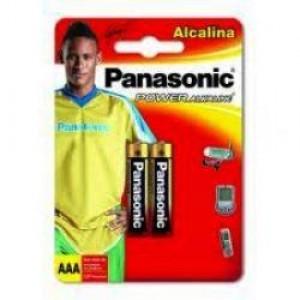 Pilha Alcalina - Palito (AAA) - Com 02 - Panasonic