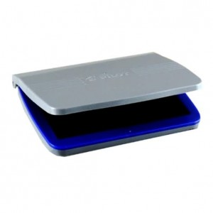 Almofada Carimbo - Pilot - Nº 02 - Plástica - Azul