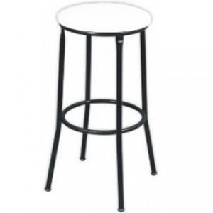 Banqueta Alta - Sem Encosto - Fixa - Assento Tecido - Móveis Gontijo