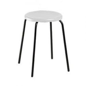 Banqueta Baixa - Sem Encosto - Fixa - Assento Plástico - Móveis Gontijo