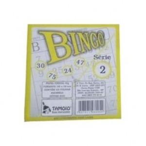 Bloco Bingo - Tamoio - Amarelo - 100 Folhas