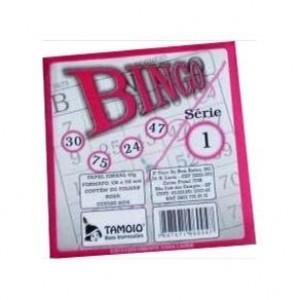 Bloco Bingo - Tamoio - Rosa - 100 Folhas