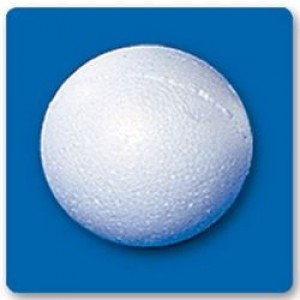 Bola Isopor - 060 Mm - Branco - Isoferes