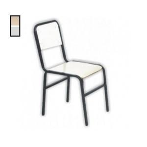 Cadeira Escolar - Adulto - MDF / Metalon - Com Cantoneira - Móveis Gontijo