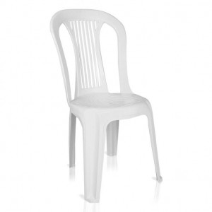 Cadeira Plástica - Bistro - Antares - Branca