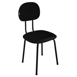 """Cadeira Secretária - Fixa - 04 Pés - """"L"""" Duplo - 3/4 - Móveis Gontijo - Laminado"""
