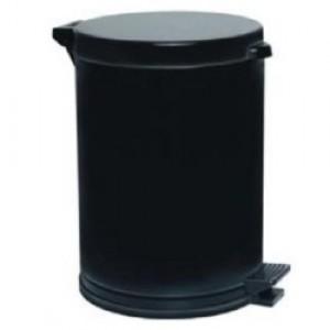 Cesto Lixo - Com Pedal - Plástico - 15 Litros - Antares - Preto