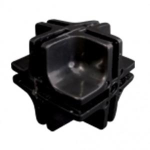 Conectivo Emenda - Plástico - 1/1 F - Preto - A Pontual