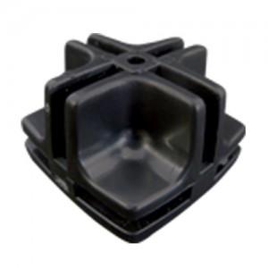 Conectivo Emenda - Plástico - 1/2 F - Preto - A Pontual