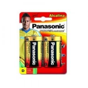 Pilha Alcalina - Grande (D) - Com 02 - Panasonic