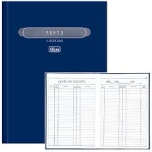 Livro Ponto - 100 Folhas - Tilibra