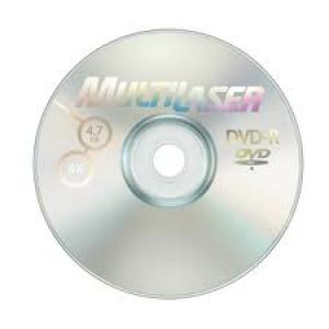 Mídia DVD-R Gravável - Multilaser