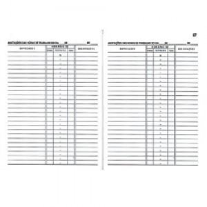 Livro Ponto - Ofício - 050 Folhas - Griffe