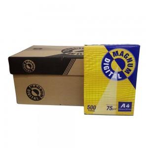 Papel Sulfite - A4 - 500 Folhas - 075 Gramas - Branco - Magnum