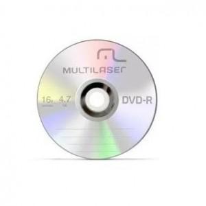 Mídia DVD + R Dual - Gravável - Multilaser