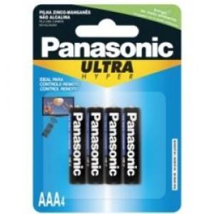 Pilha Comum - Palito (AAA) - Com 04 - Panasonic