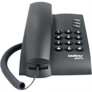Aparelho Telefone - Com Fio - Mesa - Intelbras - Preto