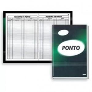 Livro Ponto - 100 Folhas - São Domingos